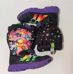 STRIDE RITE M2P MY LITTLE PONY SNEAKERBOOT